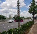 오산시, 국도1호선 가로등걸이 화분 …